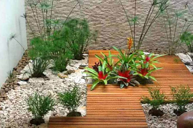 Fotos de jardines modernos for Jardines pequenos y baratos